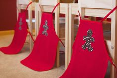 Cute apron - just iron on the gingerbread