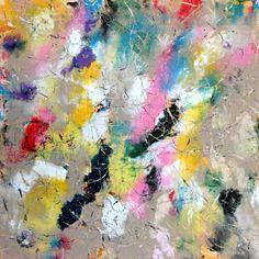 """Saatchi Art Artist Urbano Espinosa; #painting """"Vitaminas"""" #art #abstractart"""