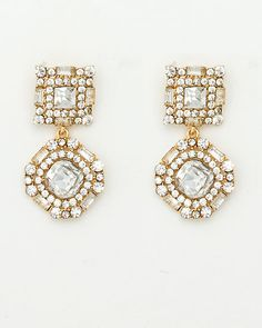 Le Château: Gem Encrusted Drop Earring
