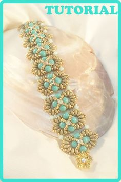 This tutorial will teach you how to make Rossella Bracelet You will receive PDF file with step by step instructions, tips and pics. Language: english and Italian You will immediately download PDF file after PayPal payment notification receipt. Happy beading!! Marghe