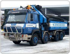 STEYER Steyr, Heavy Machinery, New Holland, Tow Truck, Old Trucks, Austria, Europe, Rigs, Om