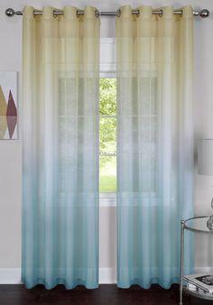 Rainbow Single Curtain Panel