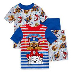 Pyjamas,Original//Official Paw Patrol  Boys Pyjamas,Boys Nightwear,Age 3-8 Years