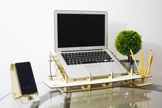 Laser Cut Cool Laptop Stand