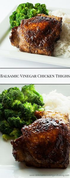 This easy, flavorful pan fried balsamic vinegar chicken thighs recipe is sure to become a favorite after you try it just once! The very first time we made our chicken thighs this way there was absolute silence other than the sound of forks hitting plates.