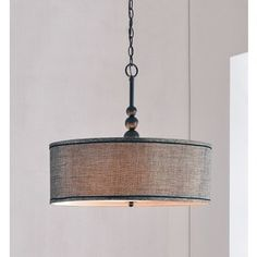 Design Craft Stewart 3-light Blackened Oil Rubbed Bronze Pendant | Overstock.com Shopping - The Best Deals on Chandeliers & Pendants