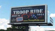 July 26, 2014 - out supporting our troops!