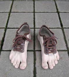 Drôles de chaussures !