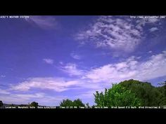 Adelaide weather time Lapse  Sun 03 04 2016