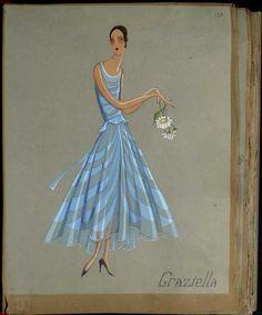 Graziella, 1929 © Patrimoine Lanvin. #Lanvin125