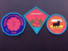 Rapha Team Sky Race Badges