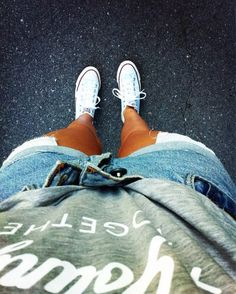 Image via We Heart It https://weheartit.com/entry/158775246 #allstar #clothes #converse #fashion #girl #jeans #outfit #photography #sexy #shirt #shorts #streetstyle #style #teenager #white