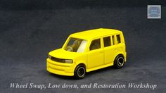 TOMICA 005D TOYOTA bB SION #NORMAL | v.67 | YELLOW | TOMY 2G