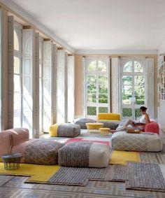 GAN Manga spaces wool armchair from Spain