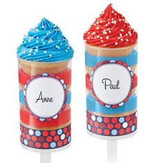 Create fabulous sweet treats with our treat push pop containers. Push pops are one of the latest trends in party styling and it's no wonder why, they help you accomplish a great look and they serve your guests with a yummy dessert.