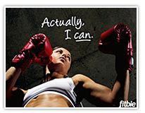 Put your mind, heart and soul into your fitness goals and YES you can!