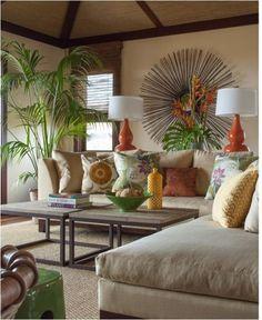 linen and tropical textiles
