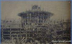 صور نــــــــــــادرة جدا لمجلس الشعب اثناء بناءه عام 1923 م