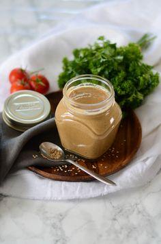 Purée de sésame maison sauce tahini