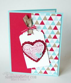 Stampin it Up voor de Valentine Holiday! Het is meer dan Stempels ...