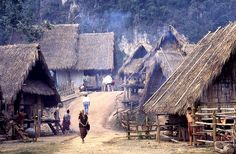 Vietnam village location Mae Hong Song area by Netta Bank, via Flickr
