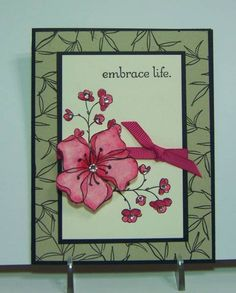 IC320 Embrace Life by jandjccc - Cards and Paper Crafts at Splitcoaststampers