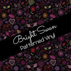 Patterned Vinyl & HTV - Valentine's Day 03 Best Settings, Craft Cutter, Patterned Vinyl, Sheet Sizes, All Brands, Heat Transfer Vinyl, Adhesive Vinyl, Valentines Day, Cricut