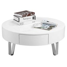 Mesa de centro blanco