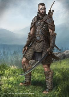 ArtStation - Ancient World Characters, Dan Iorgulescu