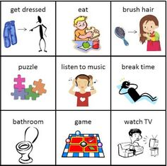 provide through the link below are designed to use the visual . Autism Learning, Visual Learning, Autism Activities, Autism Resources, Learning Tools, Pecs Communication, Communication Pictures, Communication Activities