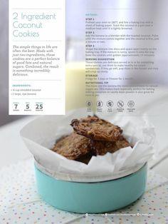 2 ingredient coconut cookies - gluten-free, dairy-free, nut-free, vegan!