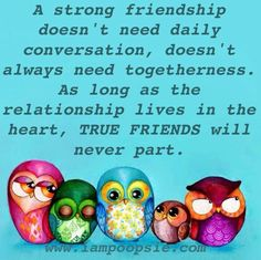 So true..... Really enjoyed the catch up with my longest friend, known her since we were 5...... My partner in crime