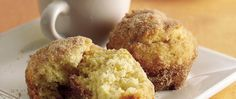 """Get ready for """"oohs"""" and """"aahs"""" when you serve these heavenly rolls. Coated with cinnamon and sugar, these quick-fix breakfast puffs are a favorite in Betty's Kitchens."""
