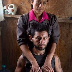 Photo: @ivankphoto // Rosa Isela Fregoso, 32, puts her arms around Oscar Ivan Peralta Lucero, 31, in her mother's kitchen a few doors down from the ruins of the #Misión Nuestra Señora del Rosario Viñadaco, which the Dominicans built in 1802 in El #Rosario, #Baja #California, #Mexico. Many of the people from Rosario live off of the ocean and are deeply involved in catching lobster. When I met Oscar he was harvesting onions for eight dollars a day. This photo is part of an ongoing prioject…