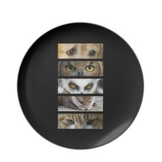 Animals Eyes Dinner Plates $28.10