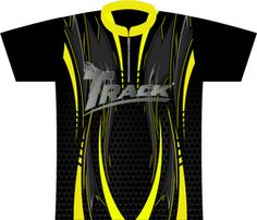 Track Yellow Dagger Dye Sublimated Jersey