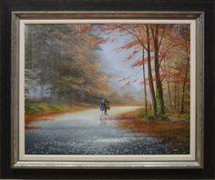 September Rain by Jeff Rowland. Available from Artworx Gallery, Shropshire, UK. www.artworx.co.uk