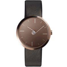 Tao Classic Watch Black Brown