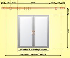 Sokakban felmerül a kérdés, hogy mekkora függönykarnist kell / érdemes választani? No ebből a cikkből megtudhatjuk ezt :)  Lényegében az alapot természetesen az ablak képezi, ehhez hozzá kell számolnunk 15-50 cm-t, ahol kényelmesen összegyűjthetjük a függönyt olyan esetekben is, amikor pl. az ablakot kinyitnánk és az összes függönyt el szeretnénk az ablak útjából húzni.   Függönykarnis méretvételi útmutató. Curtains, Mirror, Modern, Furniture, Home Decor, Blinds, Trendy Tree, Decoration Home, Room Decor