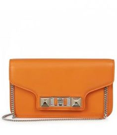 Harvey Nichols - PS11 mini leather clutch