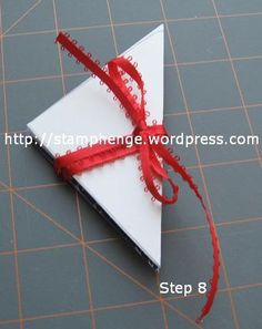 Triangle Fold Book | Stamphenge