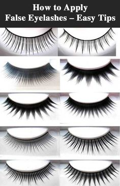 How to Apply False Eyelashes – Easy Tips