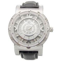 Joe Rodeo Men's 'Super Techno' Diamond-accented Watch   Overstock.com Shopping - The Best Deals on Joe Rodeo Men's Watches