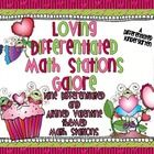 Loving Differentiated Math Stations Galore-Nine Aligned Valentines Stations Teaching Schools, Teaching Math, Maths, Teaching Ideas, Classroom Fun, Classroom Organization, Daily 5 Math, Valentines Day Activities, Math Stations