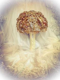 Yellow Gold Ivory Pink Purple Lavender Wedding by NatalieKlestov