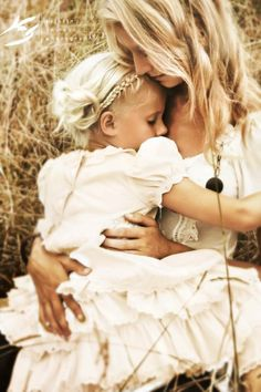 Simply beautiful mother & daughter photo