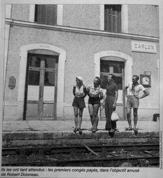 Les premiers congés payés en 1936 sous le Front Populaire - Le blog de Mme Roycourt