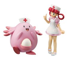 G.E.M. Series #Pokemon Nurse Joy & Chansey starts preorder. Now with 10% off! View here: http://www.blacknovatoys.com/g-e-m-series-pokemon-nurse-joy-chansey.html