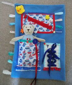 Dementia Activity Sensory Stimulation Comforter Carry BAG Multi USE Diy Craft Projects, Fun Crafts, Sewing Projects, Arts And Crafts, Summer Crafts, Sensory Blanket, Baby Sensory, Sensory Table, Sensory Bins