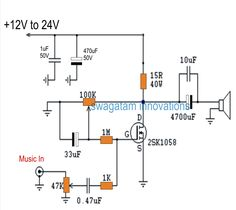 The post discusses a simple, cheap single mosfet class A power amplifier circuit which can be used for any small scale audio amplifier appl...